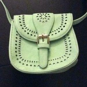 Small Charming Charlie Teal Crossbody Bag